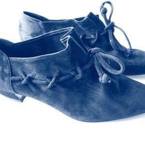 Via Spiga Black Suede Shoes Size 10